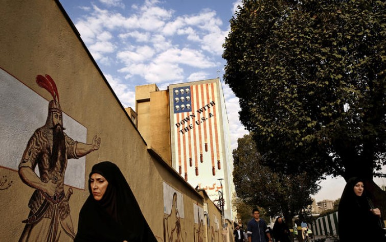 The U.S. may be the 'Great Satan' in Iran, but some still want to win the U.S. visa lottery