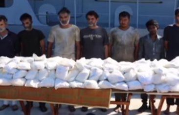 Iranian attempt to smuggle drugs into Egypt