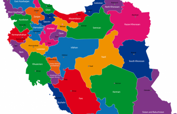 Azerbaijan planning to divide Iran into 5 countries