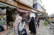 Tehran bazar: watching not buying!