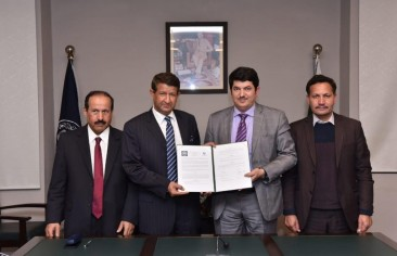 UoS signs MoU with Saudi institute for Iranian studies