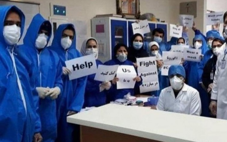 Khamenei's Personal Physician Asks Rouhani to Reopen Shrines and Mosques; 75 Percent of Healthcare Workers Concerned About Lack of PPE
