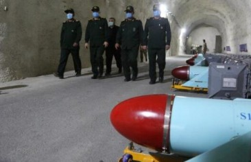 Iran Continues to Build  Underground Missile Cities