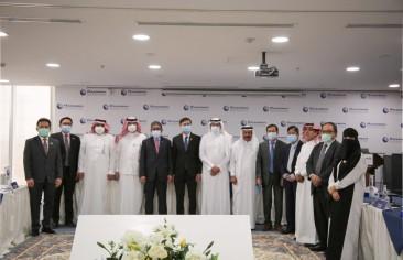 Ambassadors and Representatives of Asian Countries Visit Rasanah
