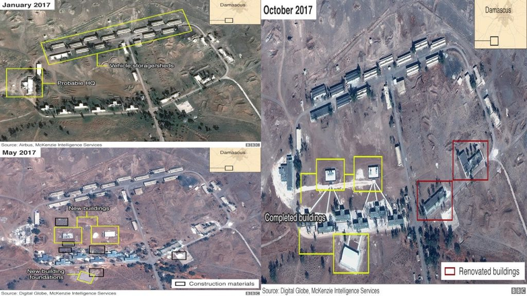 A permanent Iranian military base in Syria