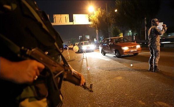 What is the basis of the IRGC entering Tehran's streets?