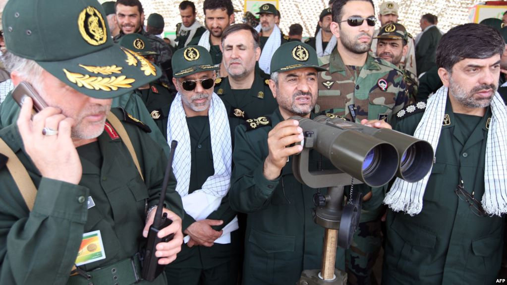 What will IRGC do with the recent protests?