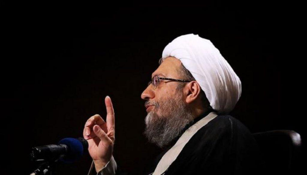 Larijani vows to arrest protesters, death toll rising