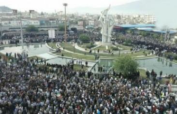 تظاهرات در کازرون به شکست مدیریت ارضی گره خورده است