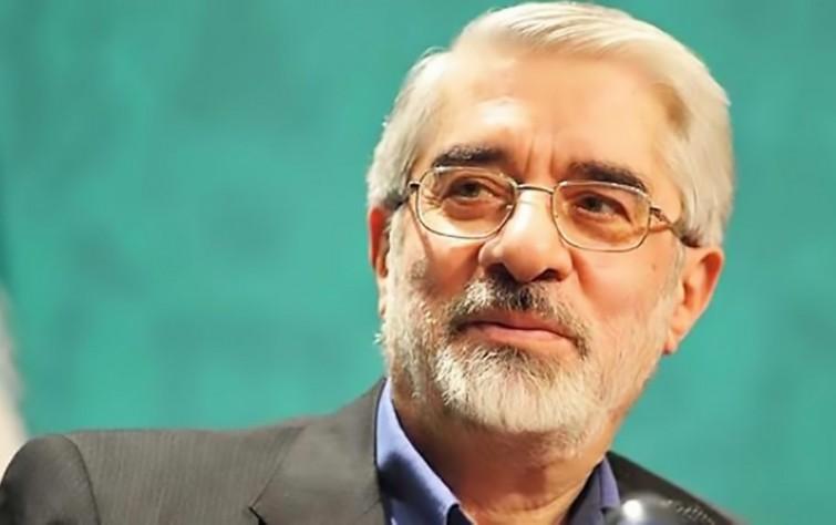 مير حسين موسوي لم يتخل عن نشاطه السياسي مقابل رفع اﻹقامة الجبرية