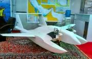 """استعراض أول """"طائرة انتحارية"""" بلا طيار لبحرية الحرس"""