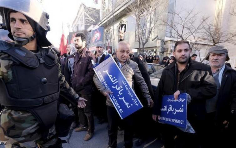 قوات فض الشغب في طهران بعد جنازة رفسنجاني.. و روسيا لا تسعى لشراء ماء إيران الثقيل