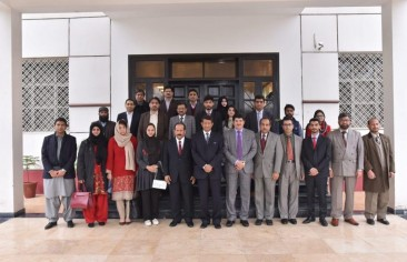 ملخص زيارة وفد رصانة إلى باكستان