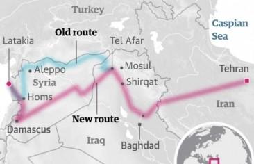 الممر الإيراني لشرق المتوسط يمرّ عبر بغداد!