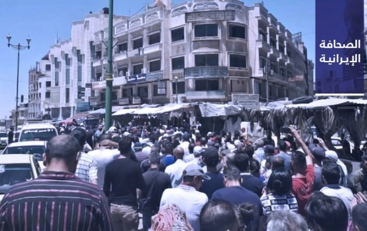 متظاهرون مناهضون للأسد يطالبون بطرد إيران.. واستدعاء متحدِّث حكومة خاتمي إلى محكمة الثورة