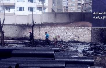 اشتعال النيران في 3400 م من أنابيب البولي إيثلين في بوكان.. وروحاني: 25 مليون إيرانيّ أصيبوا بـ«كورونا»