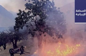 استمرار انتشار «كورونا» في البرلمان الإيراني..  وحرائق بصهاريج مكثّفات غاز و14 هكتارًا زراعيًا