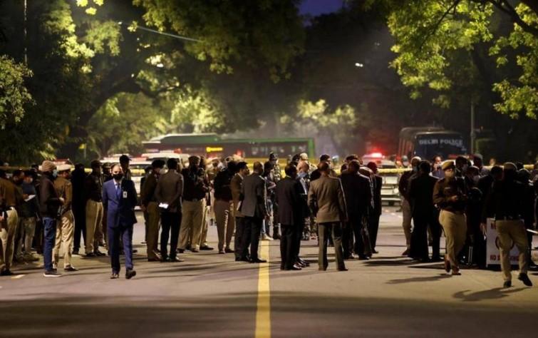 إيران خلف انفجار قنبلةٍ استهدفت السفارة الإسرائيلية في نيودلهي