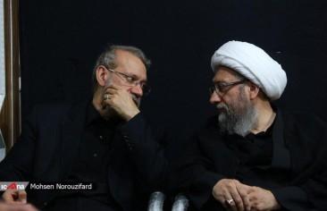 استبعاد الإخوة لاريجاني من صراع السلطة في إيران