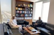رئيس «رصانة» يلتقي السفير الباكستاني لدى المملكة
