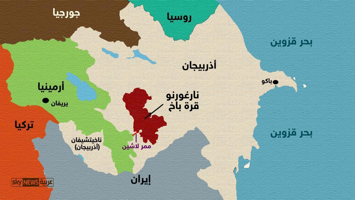 تجدد النزاع بين أذربيجان وأرمينيا حول إقليم ناجورنو قره باغ ...