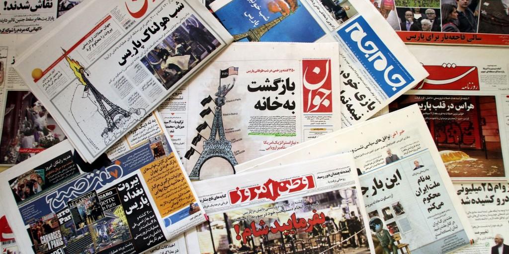 """الصحافة الإيرانية (29 مايو 2016)   اختيار لاريجاني رئيسا للبرلمان.. وانفجار السوق المحلي بالعمل الإجباري.. وخامنئي يشيد بـ """"الهولوكوست"""""""
