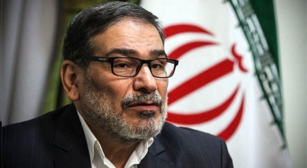 امين المجلس الاعلي للامن القومي الايراني علي شمخاني