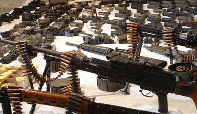 ضبط شحنة اسلحة غرب مدينة تعز في اليمن