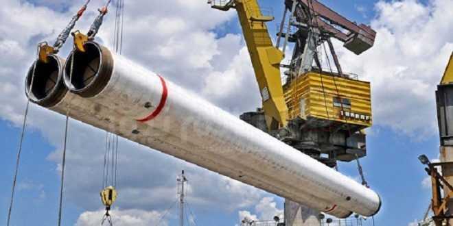 خط أنابيب لنقل الغاز إلى أوروبا