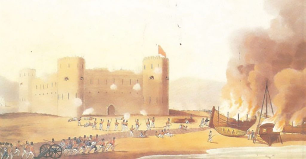 الاحتلال الفارسي لعمان في القرن الثامن عشر