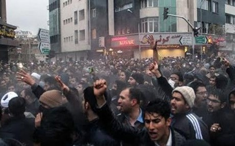 المظاهرات الإيرانية
