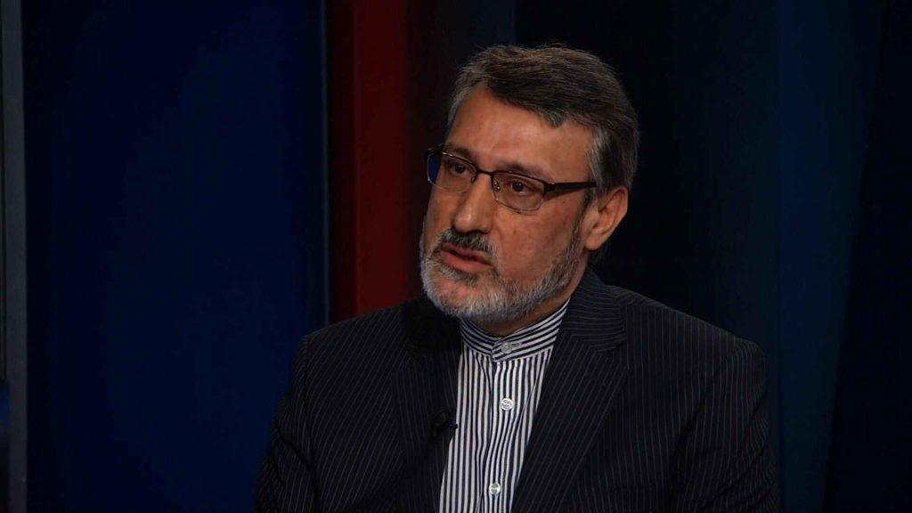 السفير الإيراني في المملكة المتحدة، حميد بعيدي نجاد