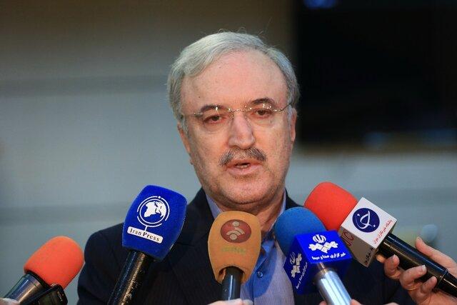 وزير الصحّة الإيراني سعيد نمكي