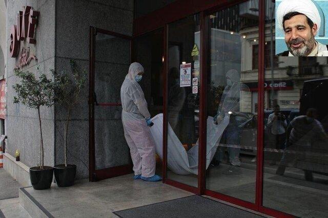 البدء بعملية تحقيق الطب الشرعي للتعرف على جثمان وسبب وفاة القاضي منصوري