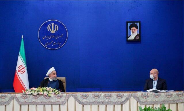 متحدِّث الحكومة ينفي حدوث مشادَّة كلامية بين روحاني ورئيس البرلمان