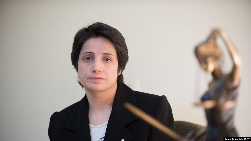 زوج نسرين ستوده: حساباتها المصرفية أُغلقت بأمر المدّعي العامّ في طهران