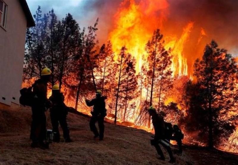 اتّساع نطاق حريق في غابات جيلان إلى 100 هكتار.. والوضع حرج